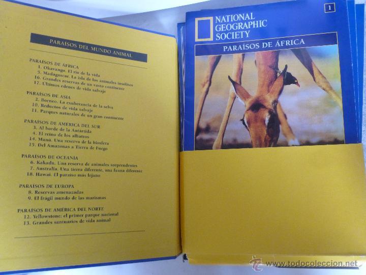 Libros de segunda mano: PARAÍSOS DEL MUNDO ANIMAL - NATIONAL GEOGRAPHIC SOCIETY - Foto 2 - 53819558
