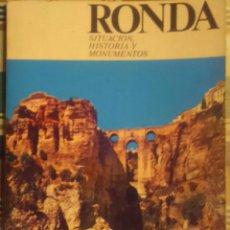 Libros de segunda mano: LIBRO RONDA MÁLAGA ANDALUCÍA DE 1978. Lote 53891502