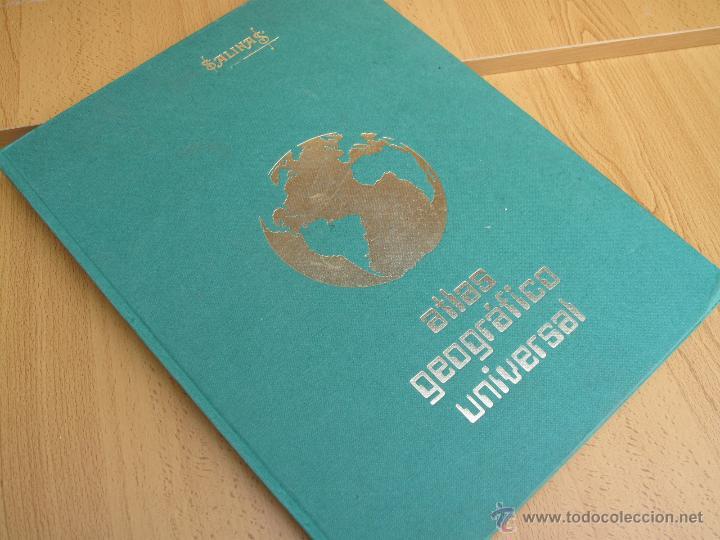 ATLAS GEOGRÁFICO UNIVERSAL - SALINAS. (Libros de Segunda Mano - Geografía y Viajes)