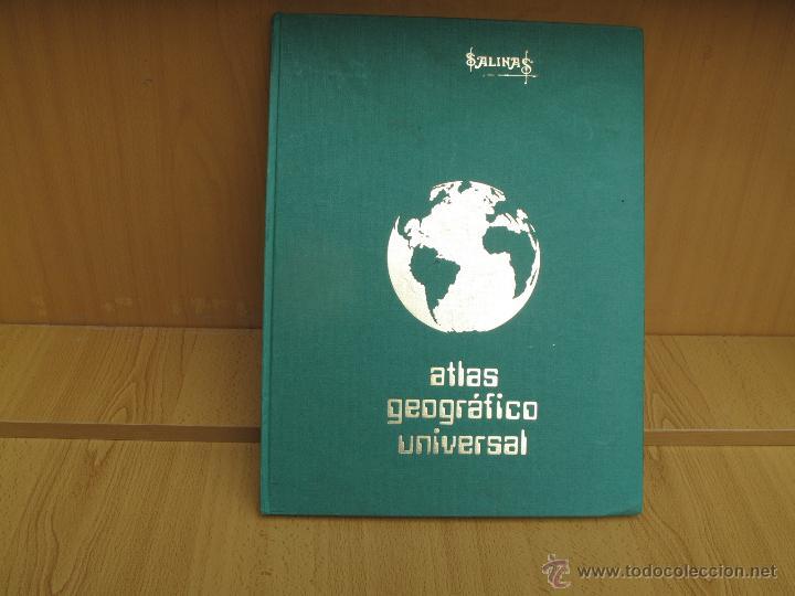 Libros de segunda mano: ATLAS GEOGRÁFICO UNIVERSAL - SALINAS. - Foto 2 - 53945337