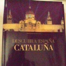 Libros de segunda mano: DESCUBRA ESPAÑA CATALUÑA PIEL CON SOBRECUBIERTA, HARDCOVER. Lote 54053013