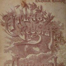 Libros de segunda mano: ATLAS GEOGRAFCO UNIVERSAL SALINAS 1955. Lote 54267228