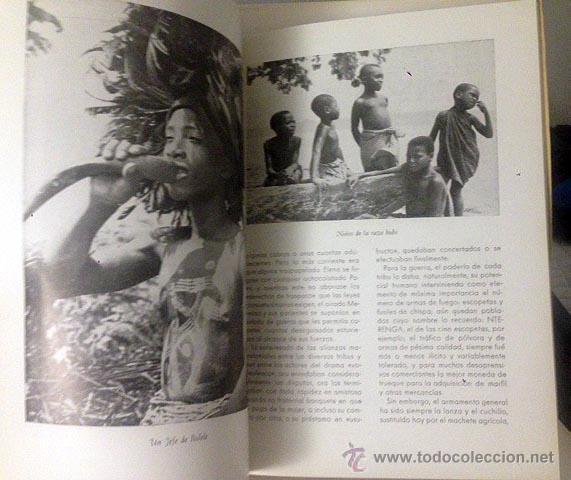 LOS TERRITORIOS ESPAÑOLES DEL GOLFO DE GUINEA. C 1950. FOTOS. MAPAS. (Libros de Segunda Mano - Geografía y Viajes)