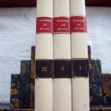 Libros de segunda mano: CAMINOS DE ESPAÑA.EDITADO POR LA COMPAÑIA ESPAÑOLA DE PENICILINA. 3 TOMOS.. Lote 54838823