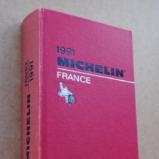 Libros de segunda mano: 1991 MICHELIN FRANCE GUIDE. Lote 54941139
