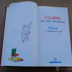 Libros de segunda mano: 1989 MICHELIN FRANCE GUIDE. Lote 54941227