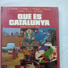 Libros de segunda mano: QUE ES CATALUNYA. POR EDMON VALLES. EDC 62. CATALAN 1980. Lote 55058545