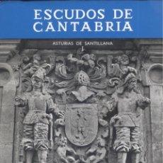 Libros de segunda mano: CARMEN GONZALEZ ECHEGARAY. ESCUDOS DE CANTABRIA: ASTURIAS DE SANTILLANA, I. SANTANDER, 1969.. Lote 55110101