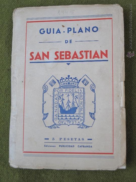 GUIA PLANO DE SAN SEBASTIAN. (Libros de Segunda Mano - Geografía y Viajes)