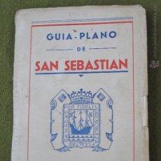Libros de segunda mano: GUIA PLANO DE SAN SEBASTIAN.. Lote 55134659