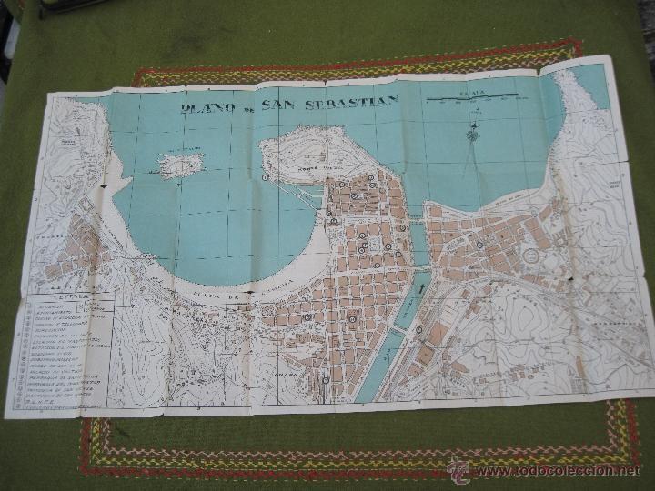 Libros de segunda mano: GUIA PLANO DE SAN SEBASTIAN. - Foto 5 - 55134659