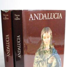 Libros de segunda mano: L-202 ANDALUCÍA TIERRAS DE ESPAÑA 2 TOMOS EDITORIAL NOGUER 1981. Lote 55313463