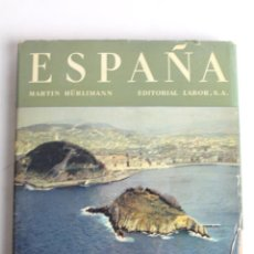 Livres d'occasion: L-3263 ESPAÑA PAISAJES Y MONUMENTOS. MARTIN HÜRLIMANN. EDITORIAL LABOR 1958. Lote 55313804