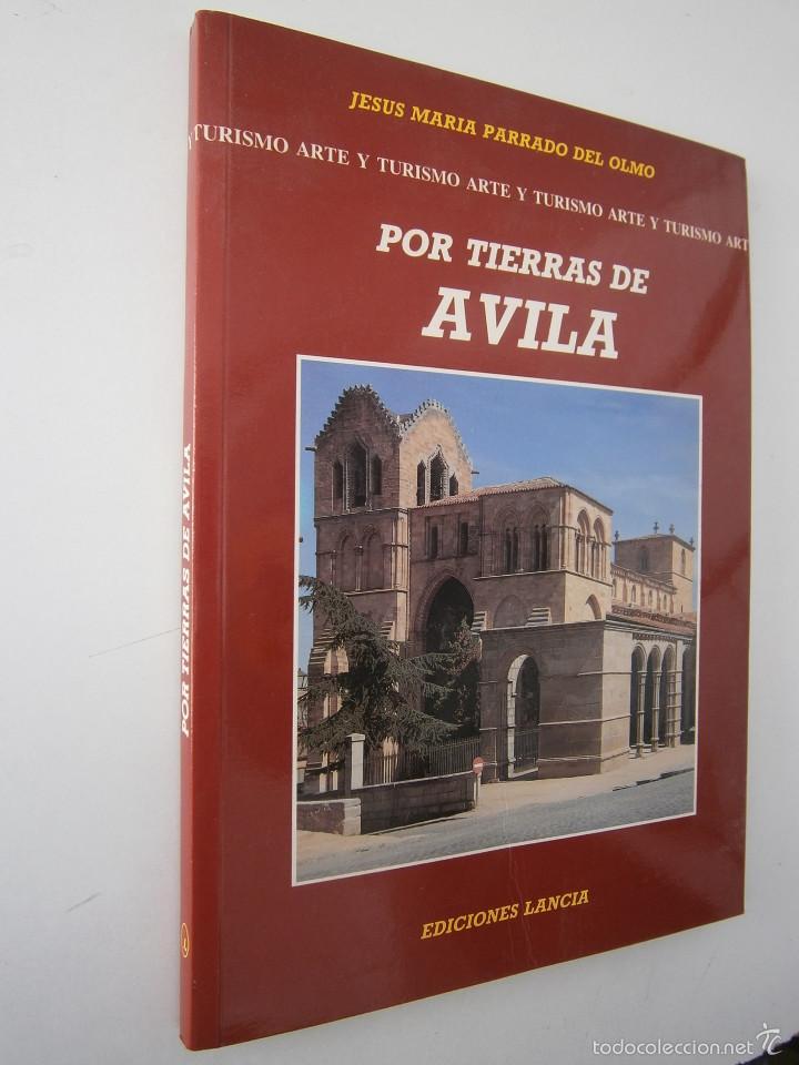 Libros de segunda mano: POR TIERRAS DE AVILA Jesus Parrado del Olmo Lancia 1995 - Foto 2 - 55456375