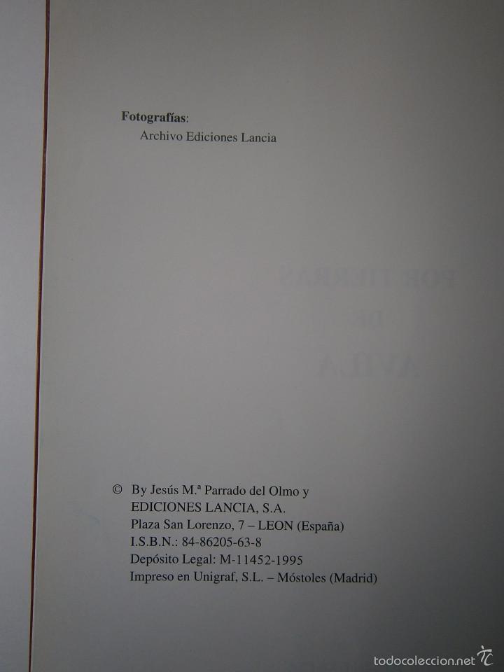 Libros de segunda mano: POR TIERRAS DE AVILA Jesus Parrado del Olmo Lancia 1995 - Foto 5 - 55456375