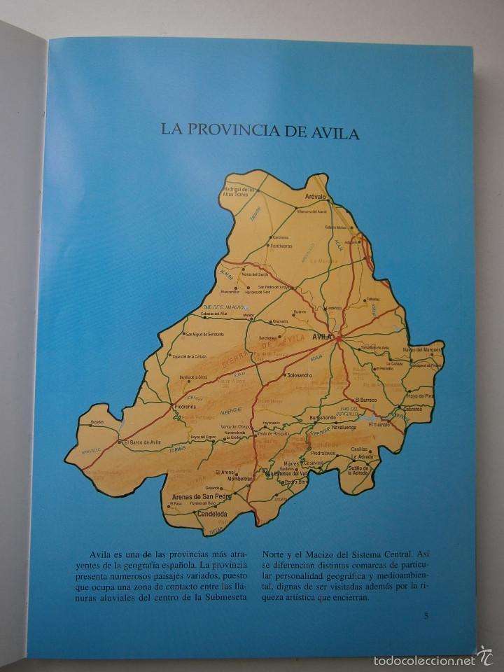 Libros de segunda mano: POR TIERRAS DE AVILA Jesus Parrado del Olmo Lancia 1995 - Foto 6 - 55456375