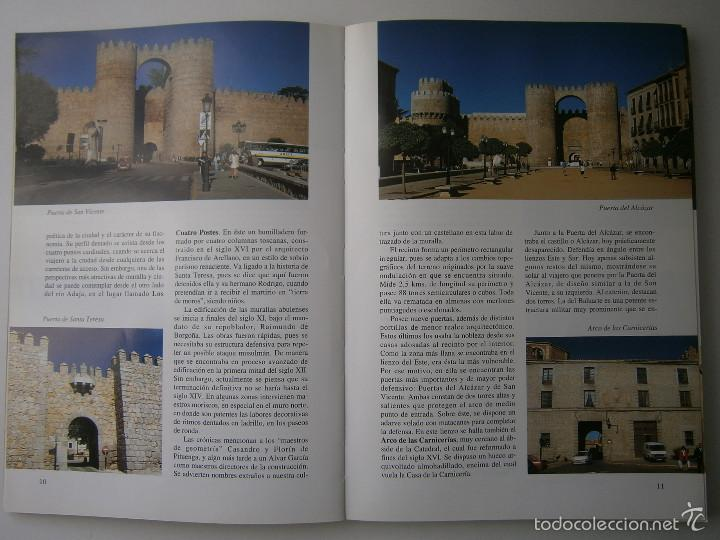 Libros de segunda mano: POR TIERRAS DE AVILA Jesus Parrado del Olmo Lancia 1995 - Foto 8 - 55456375