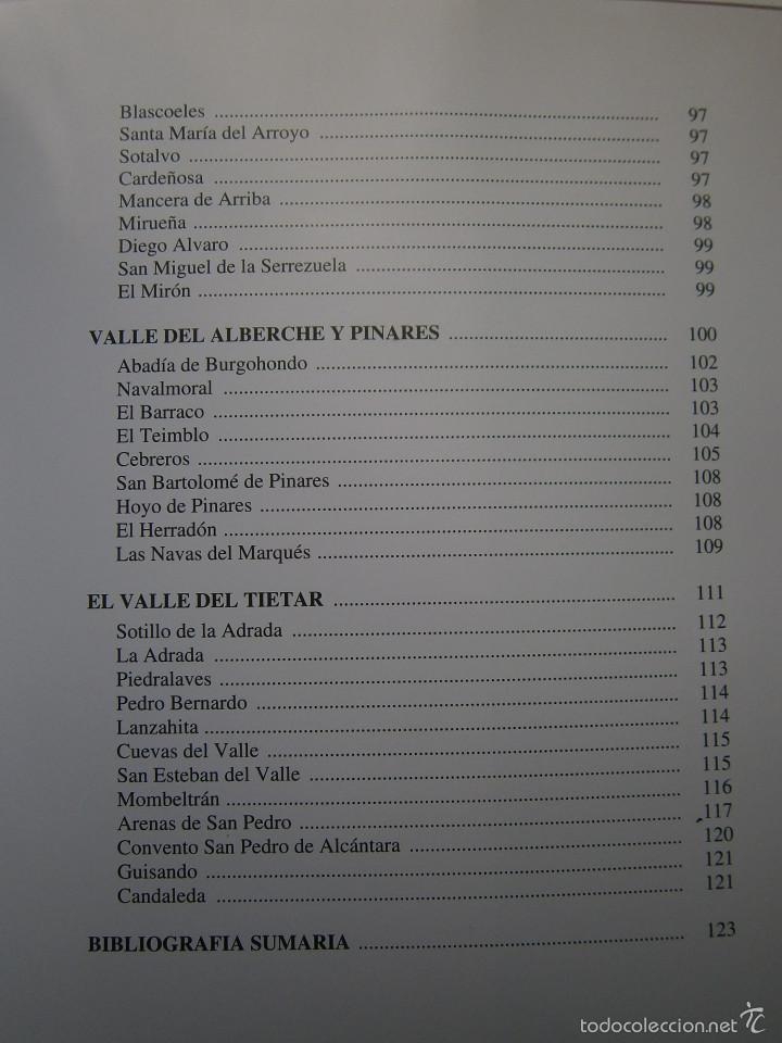 Libros de segunda mano: POR TIERRAS DE AVILA Jesus Parrado del Olmo Lancia 1995 - Foto 18 - 55456375