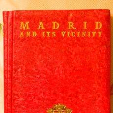 Libros de segunda mano: GUIA DE MADRID EN INGLES.AFRODISIO AGUADO GUIDES.1958. Lote 55563799