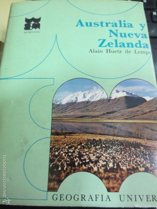 AUSTRALIA Y NUEVA ZELANDA Nº 27 VV.AA. EDIT MORETON AÑO 1967 (Libros de Segunda Mano - Geografía y Viajes)
