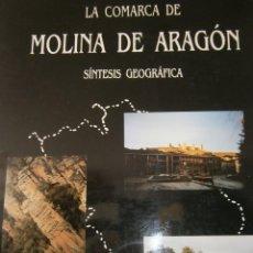 Libros de segunda mano: LA COMARCA DE MOLINA DE ARAGON SINTESIS GEOGRAFICA JUAN JULIAN MARTINEZ PARRILLA MINAYA 1991. Lote 55915451