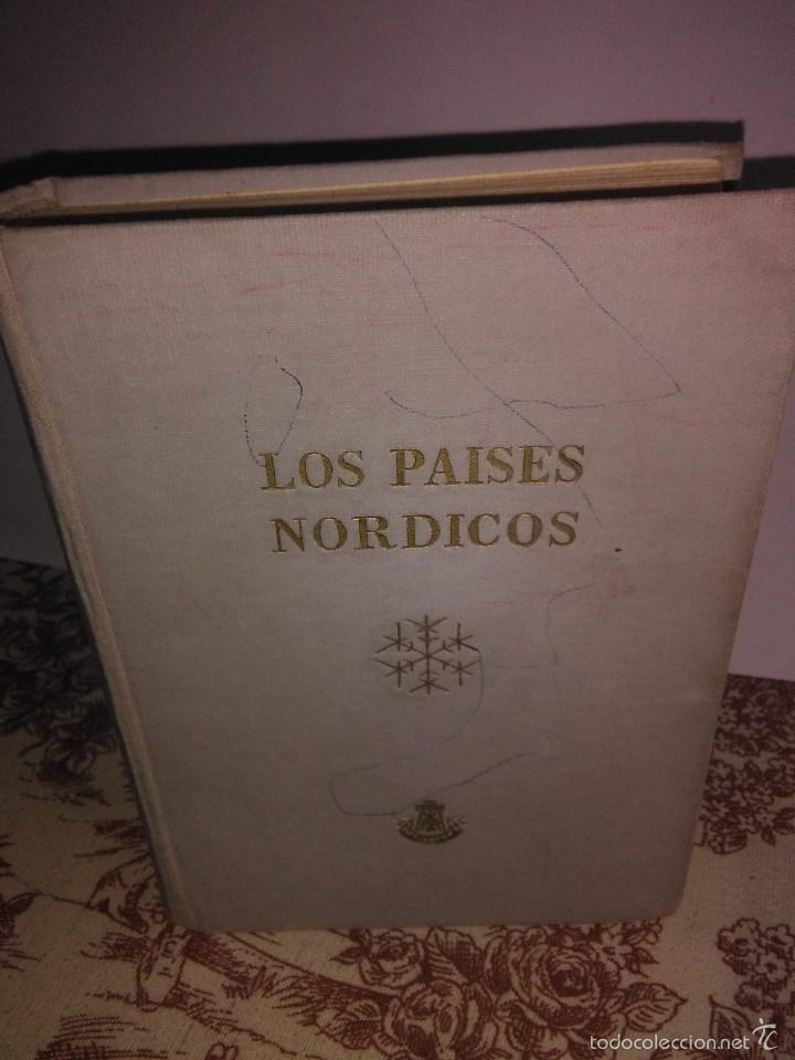 LOS PAISES NORDICOS-DINAMARCA.NORUEGA,SUECIA Y FINLANDIA (Libros de Segunda Mano - Geografía y Viajes)