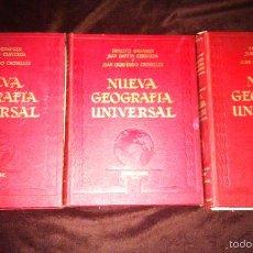 Libros de segunda mano: NUEVA GEOGRAFIA UNIVERSAL. Lote 56280555