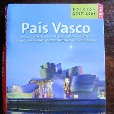 Libros de segunda mano: GUIA LIBRO PAIS VASCO GUIAS DE ESPAÑA 2007 - 2008 BIBLIOTECA METROPOLI. Lote 56301059