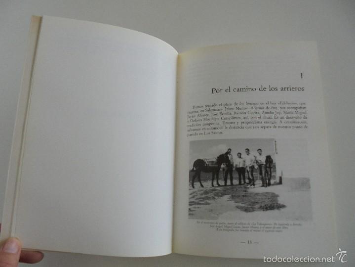 Libros de segunda mano: VIAJE EN BURRO POR LA SIERRA DE FRANCIA ENTRESIERRAS Y LAS BARDAS. RAMON GRANDE DEL BRIO. - Foto 10 - 56475432