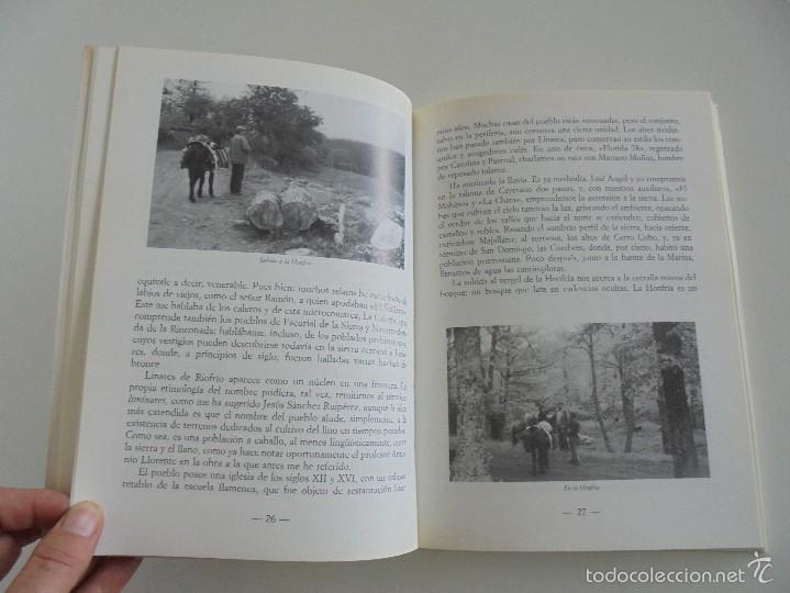 Libros de segunda mano: VIAJE EN BURRO POR LA SIERRA DE FRANCIA ENTRESIERRAS Y LAS BARDAS. RAMON GRANDE DEL BRIO. - Foto 12 - 56475432