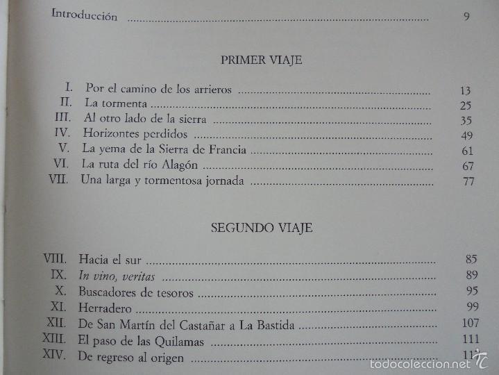 Libros de segunda mano: VIAJE EN BURRO POR LA SIERRA DE FRANCIA ENTRESIERRAS Y LAS BARDAS. RAMON GRANDE DEL BRIO. - Foto 18 - 56475432