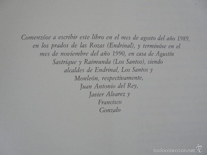 Libros de segunda mano: VIAJE EN BURRO POR LA SIERRA DE FRANCIA ENTRESIERRAS Y LAS BARDAS. RAMON GRANDE DEL BRIO. - Foto 19 - 56475432