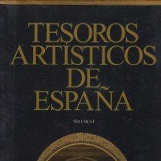 Libros de segunda mano: TESOROS ARTISTICOS DE ESPAÑA 2 VOLUMENES CLUB INTERNACIONAL DEL LIBRO MADRID 1994 LE931. Lote 56608855