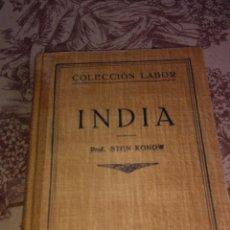 Libros de segunda mano: INDIA. Lote 56647601