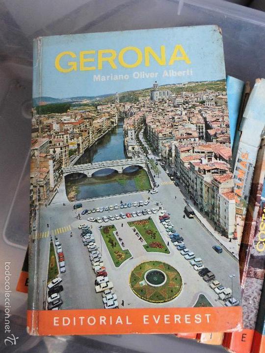 LIBRO GERONA MARIANO OLIVER ALBERTI 1973 ED. EVEREST L-809-551 (Libros de Segunda Mano - Geografía y Viajes)