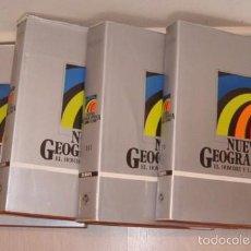 Libros de segunda mano: VV. AA.. NUEVA GEOGRAPHICA: EL HOMBRE Y LA TIERRA. CUATRO TOMOS. RMT74798. . Lote 57011256