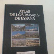 Libros de segunda mano: ATLAS DE LOS PAISAJES DE ESPAÑA.OLMO Y HERRANZ. MINISTERIO MEDIOAMBIENTE. 2010 683 PAG. Lote 109731595