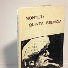 Libros de segunda mano: MONTIEL: QUINTA ESENCIA. (MUÑOZ FILLOL) ILUSTRACIONES FOTOGRÁFICAS. AUTÓGRAFO. (CIUDAD REAL. Lote 57205093