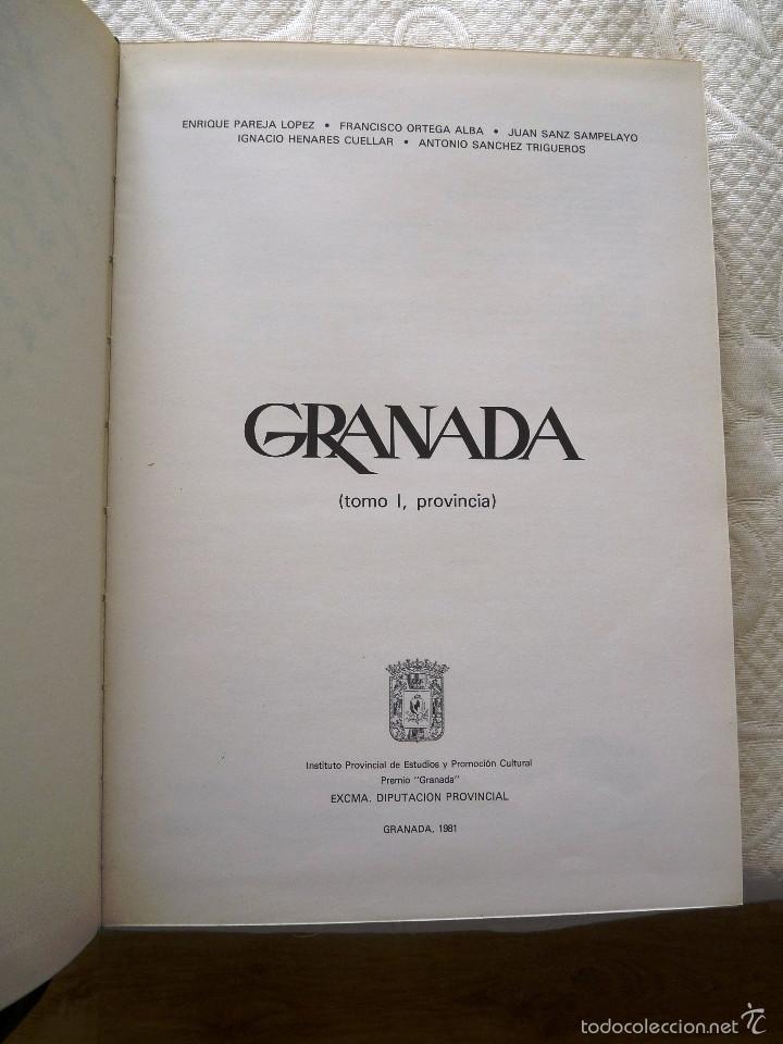 Libros de segunda mano: Colección libros GRANADA.- 4 Tomos - Foto 5 - 57564035
