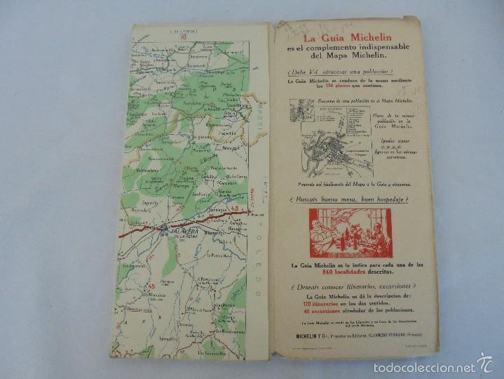 Libros de segunda mano: 12 MAPAS ANTIGUOS. 7 MAPAS DE MICHELIN ENTELADOS. EL NUEVO BALON MICHELIN. TODOS FOTOGRAFIADOS. - Foto 2 - 57615464