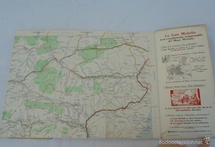 Libros de segunda mano: 12 MAPAS ANTIGUOS. 7 MAPAS DE MICHELIN ENTELADOS. EL NUEVO BALON MICHELIN. TODOS FOTOGRAFIADOS. - Foto 7 - 57615464