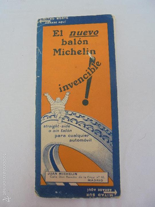 Libros de segunda mano: 12 MAPAS ANTIGUOS. 7 MAPAS DE MICHELIN ENTELADOS. EL NUEVO BALON MICHELIN. TODOS FOTOGRAFIADOS. - Foto 32 - 57615464