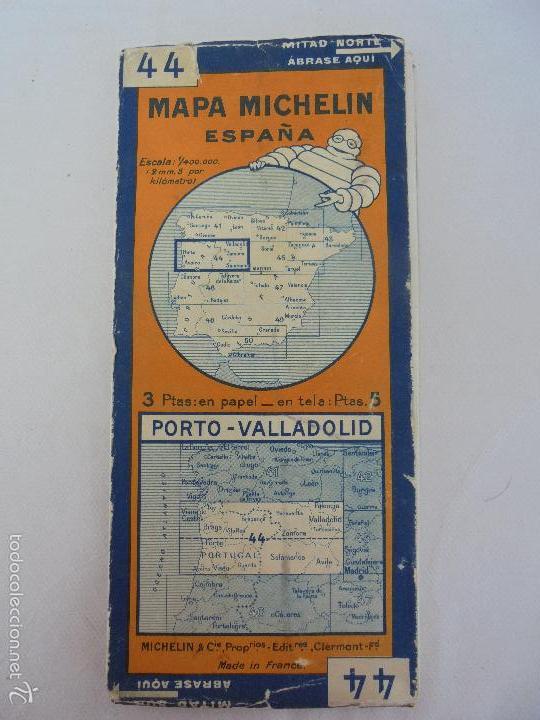 Libros de segunda mano: 12 MAPAS ANTIGUOS. 7 MAPAS DE MICHELIN ENTELADOS. EL NUEVO BALON MICHELIN. TODOS FOTOGRAFIADOS. - Foto 33 - 57615464