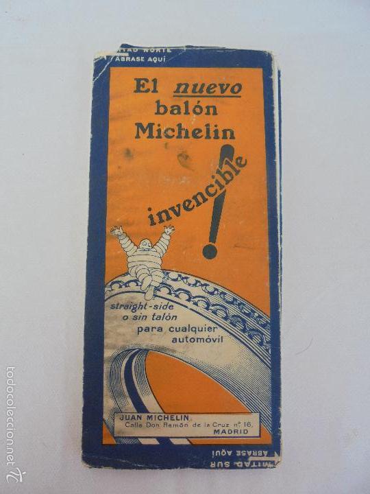 Libros de segunda mano: 12 MAPAS ANTIGUOS. 7 MAPAS DE MICHELIN ENTELADOS. EL NUEVO BALON MICHELIN. TODOS FOTOGRAFIADOS. - Foto 34 - 57615464