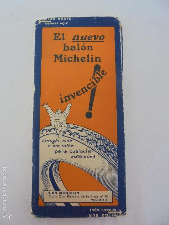 Libros de segunda mano: 12 MAPAS ANTIGUOS. 7 MAPAS DE MICHELIN ENTELADOS. EL NUEVO BALON MICHELIN. TODOS FOTOGRAFIADOS. - Foto 36 - 57615464