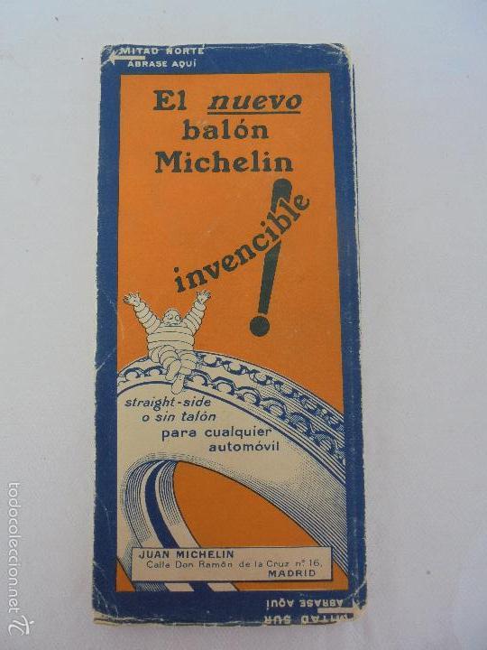 Libros de segunda mano: 12 MAPAS ANTIGUOS. 7 MAPAS DE MICHELIN ENTELADOS. EL NUEVO BALON MICHELIN. TODOS FOTOGRAFIADOS. - Foto 38 - 57615464