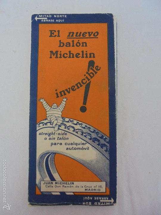 Libros de segunda mano: 12 MAPAS ANTIGUOS. 7 MAPAS DE MICHELIN ENTELADOS. EL NUEVO BALON MICHELIN. TODOS FOTOGRAFIADOS. - Foto 40 - 57615464