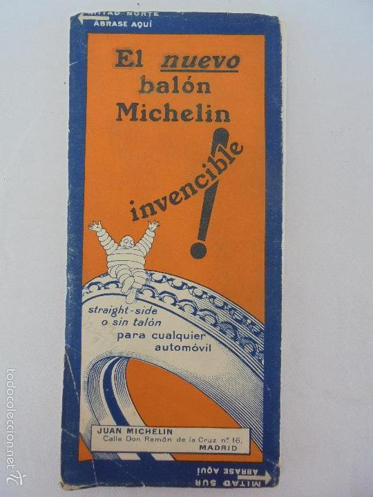 Libros de segunda mano: 12 MAPAS ANTIGUOS. 7 MAPAS DE MICHELIN ENTELADOS. EL NUEVO BALON MICHELIN. TODOS FOTOGRAFIADOS. - Foto 42 - 57615464