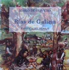 Libros de segunda mano: RÍAS DE GALICIA. ESTÉTICA DEL PAISAJE. MÁRIO DE OLIVEIRA. ILUSTRACIONES ÁNGEL HERNANSÁEZ. Lote 57666769