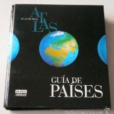 Libros de segunda mano: ATLAS MUNDIAL: GUÍA DE PAÍSES POR SILVIA CAUNEDO DE EL PAÍS / SANTILLANA EN MADRID 1998. Lote 57804280